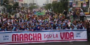 Lima – 800 tys. ludzi zażyciem!