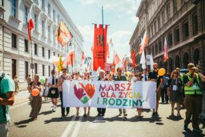Tysiące ludzi naMarszach dla Życia iRodziny wcałej Polsce!