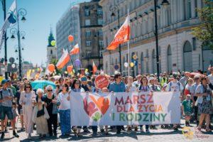 Warszawski Marsz dla Życia iRodziny 2019